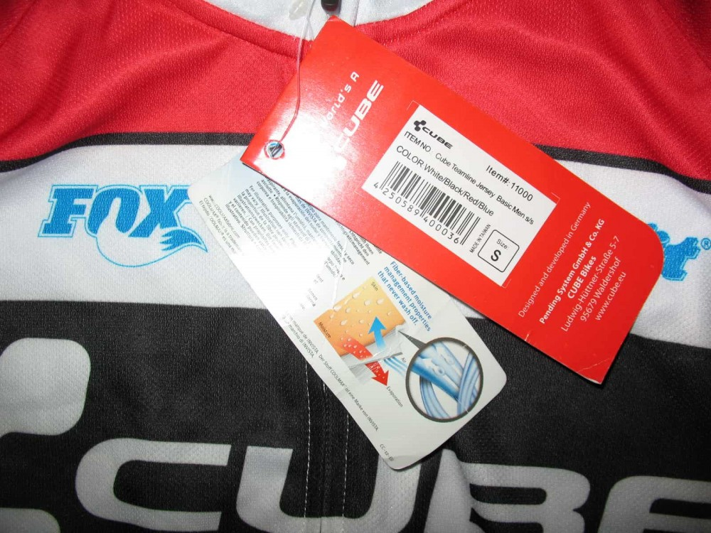 Веломайка CUBE teamline jersey (размер S) - 5