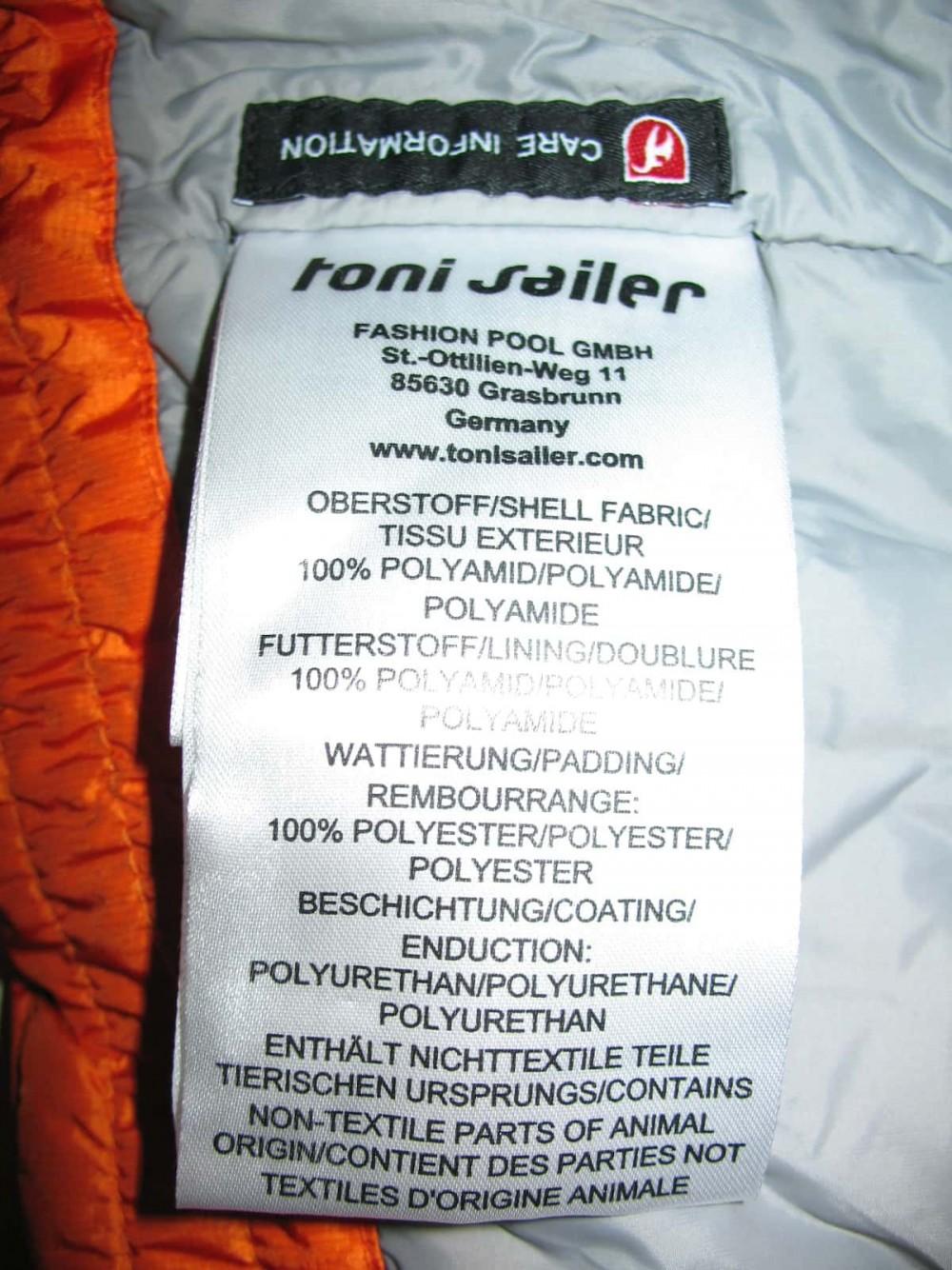 Куртка TONI SAILER clementine quilted ski jacket lady (размер 36/S) - 9