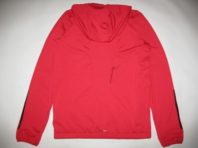 Кофта ADIDAS core performance climalite full zip hoodie  (размер S/M) - 2