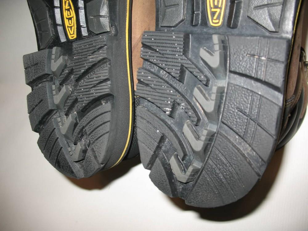 Ботинки KEEN milwaukee waterproof boots (размер US8/UK7/EU41(на стопу 260 mm)) - 10