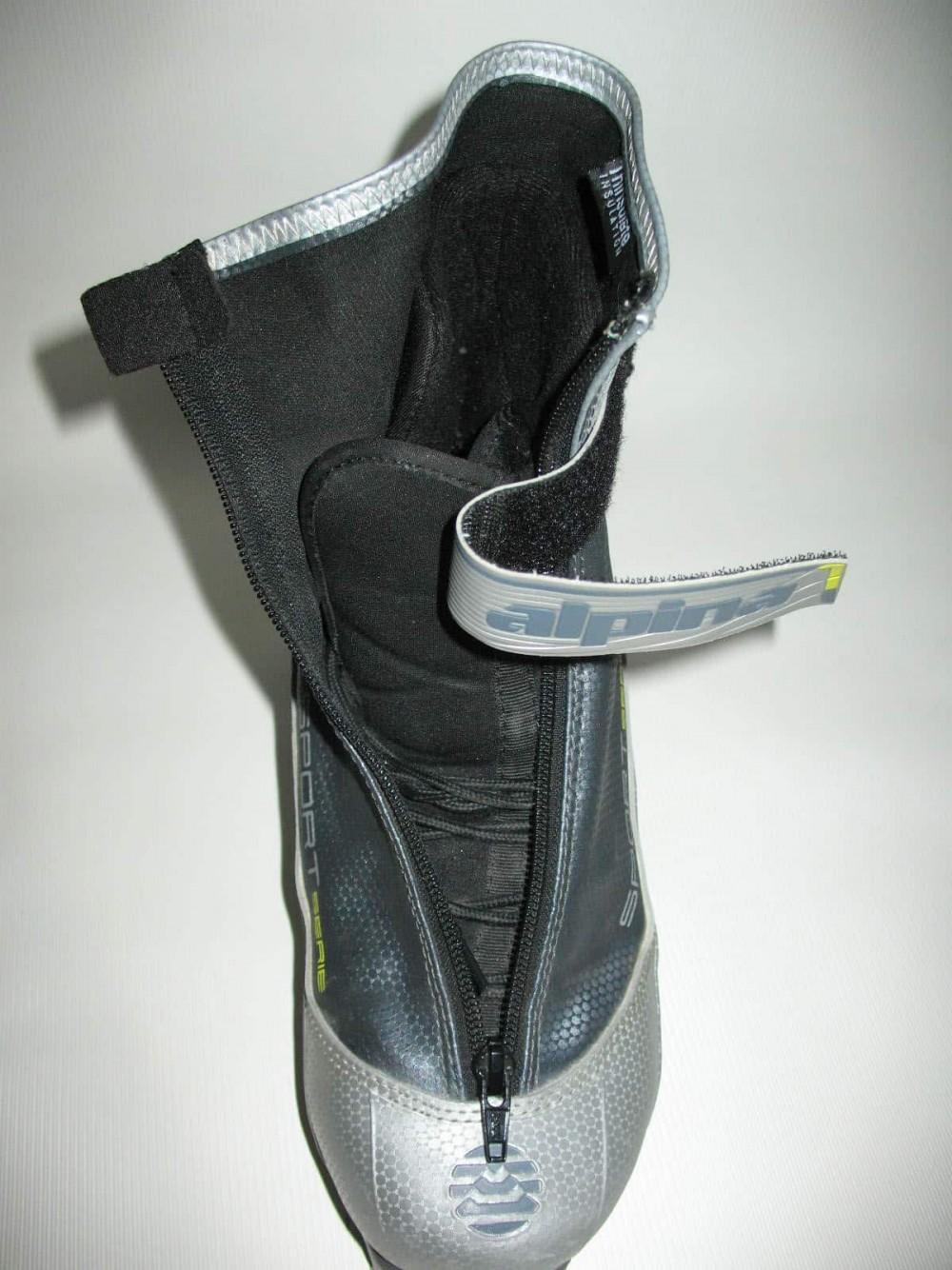 Ботинки ALPINA sr40 cross country ski boots (размер EU41(на стопу до 255 mm)) - 11