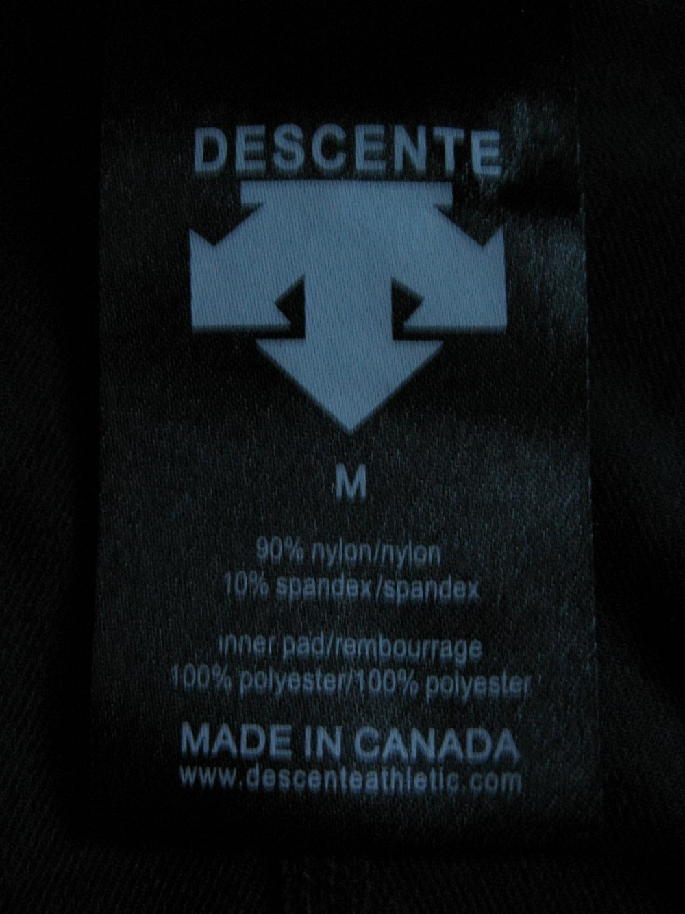 Велошорты DESCENTE bliss cycling shorts lady (размер M) - 4