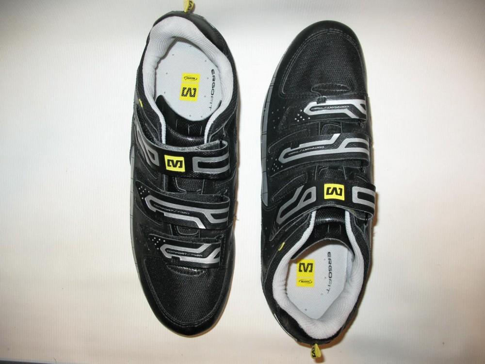 Велотуфли MAVIC peloton road shoes (размер US10/UK9,5/EU44(на стопу 280 mm)) - 5