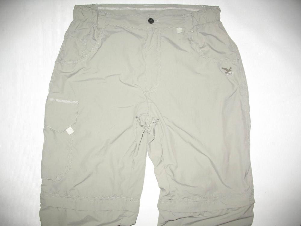 Штаны SALEWA newport dry 2in1 pants (размер 48/M) - 6