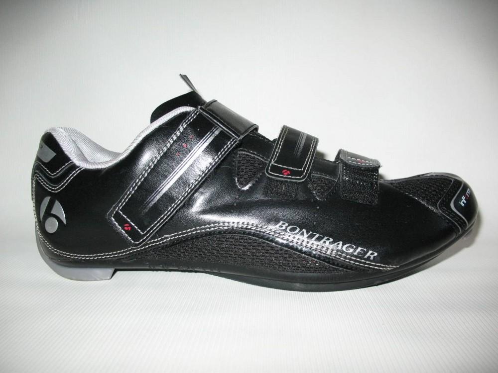Велотуфли BONTRAGER race road shoes (размер US13/UK12/EU46(на стопу до 295 mm)) - 1