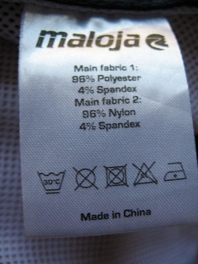 Футболка MALOJA softshell vests lady (размер M) - 6