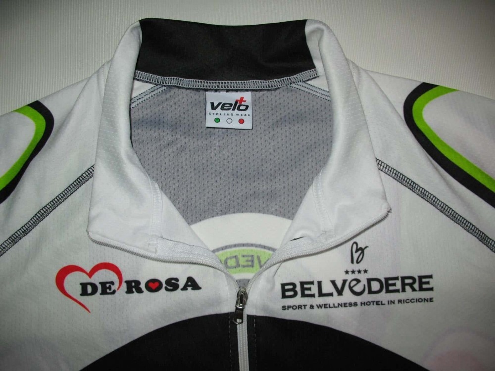 Веломайка VELO+ de rosa cycling jersey (размер L) - 2