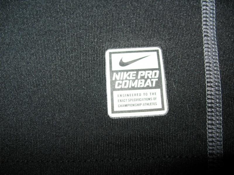Футболка NIKE Pro Combat Fitted Mock Neck Shirt Dri-Fit (размер юношеский XL/взрослый XS/S) - 6