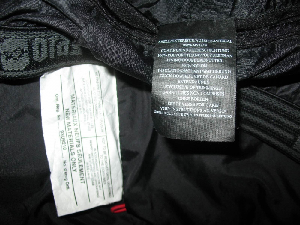Куртка ORAGE ski down jacket lady (размер M) - 12