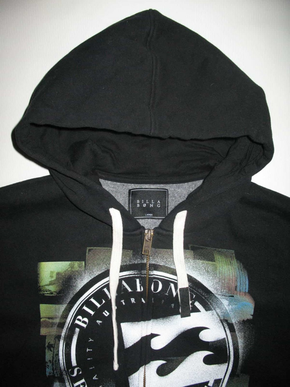 Кофта BILLABONG plasma hoodie (размер L) - 4