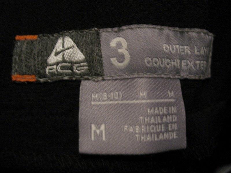 Штаны NIKE acg pants lady  (размер 38-M(8-10)/S) - 9