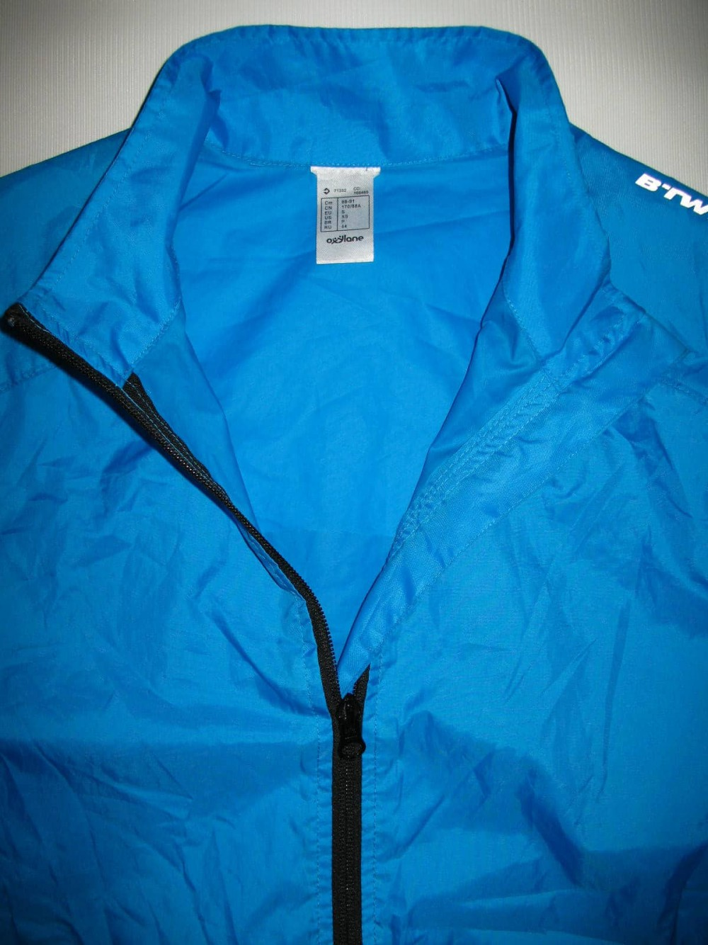 Куртка B'TWIN 300 waterproof cycling jacket (размер S/M) - 5