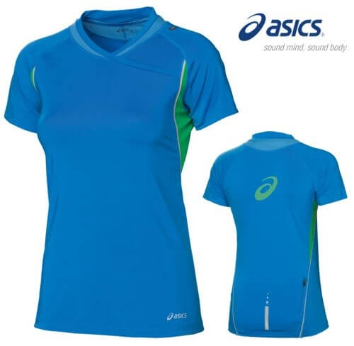 Футболка ASICS running t-shirts lady (размер S) - 2