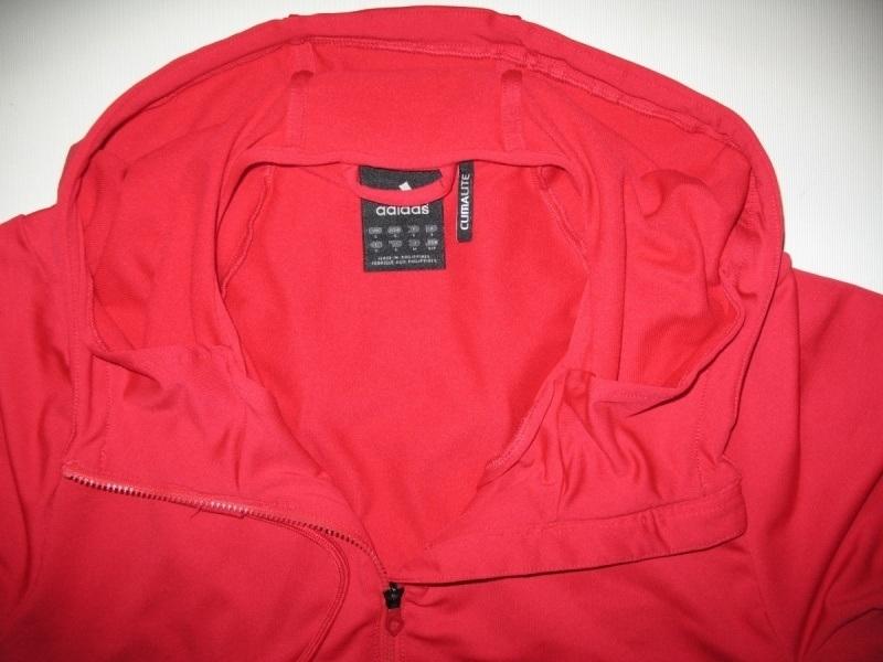 Кофта ADIDAS core performance climalite full zip hoodie  (размер S/M) - 5