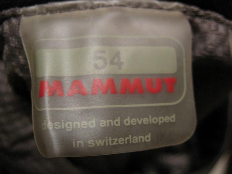 Штаны MAMMUT DRYtech alaska pants(размер 54/XL) - 10