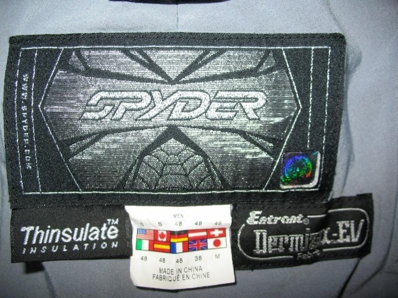 Штаны SPYDER   20/20 pants  (размер 48-S) - 9