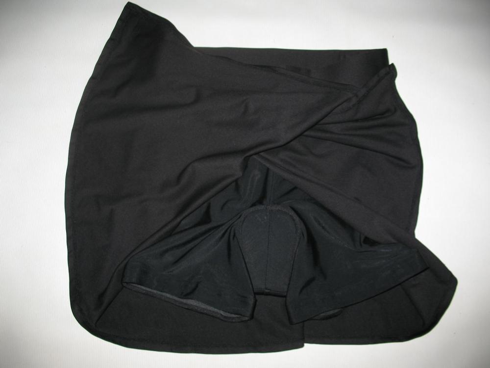 Велоюбка BTWIN black cycling skirt lady (размер S) - 3