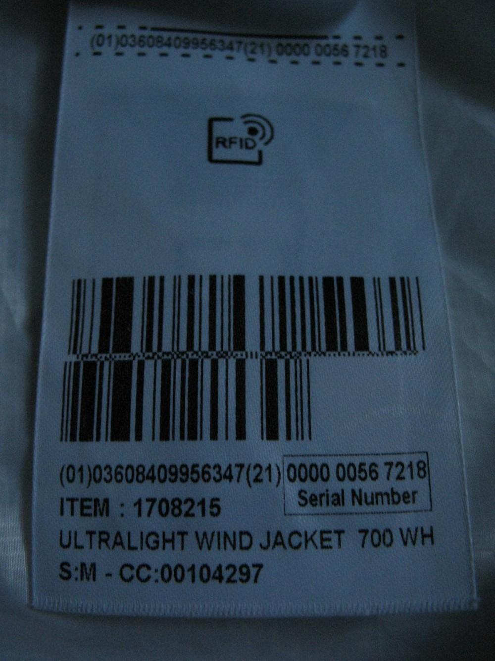Куртка BTWIN 700 ultralight wind jacket (размер 48-M) - 8