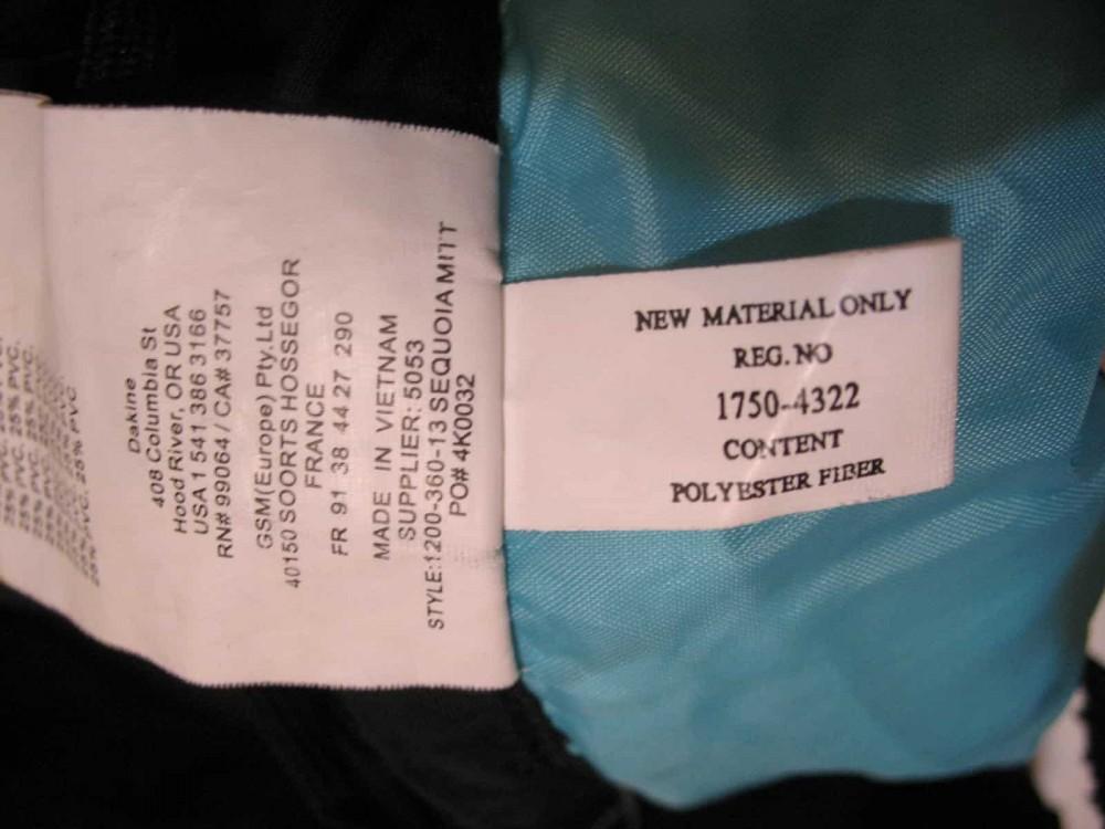Перчатки-варежки DAKINE Sequoia Mitt lady (размер M) - 8