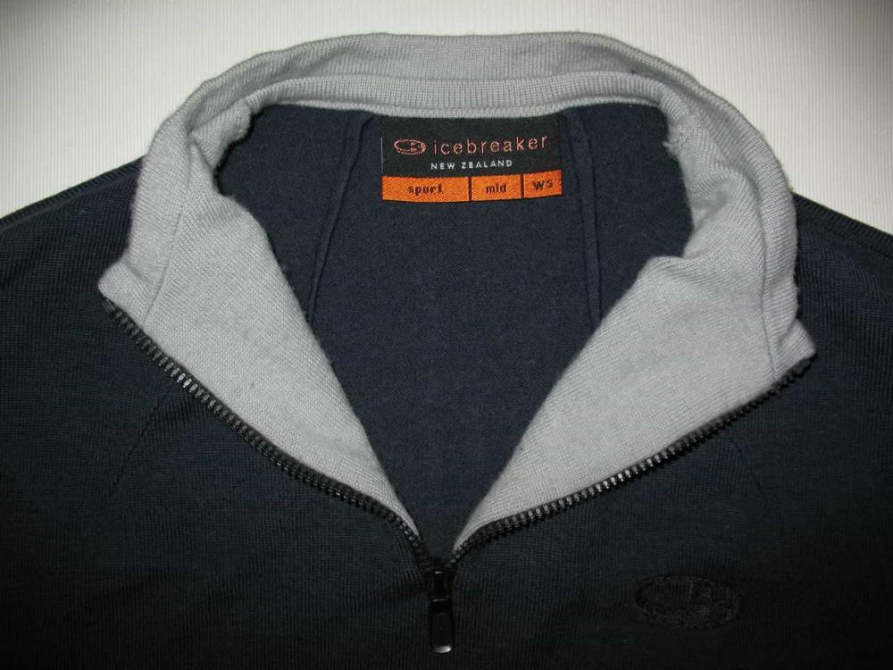 Кофта ICEBREAKER sport jersey lady (размер M) - 3