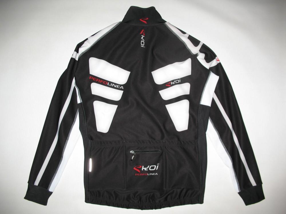 Велокуртка EKOI perfolinea cycling jacket (размер L) - 1