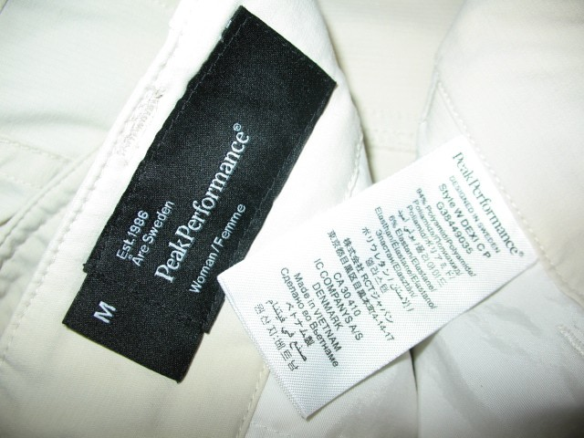 Шорты PEAK PERFOMANCE dexi shorts lady (размер М/L) - 6