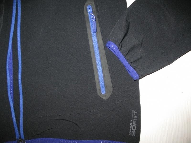 Кофта MAMMUT rundle softshell jacket lady  (размер M) - 8