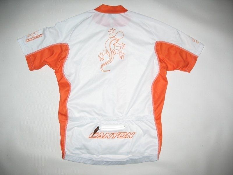 Футболка CANYON white jersey  (размер L) - 1