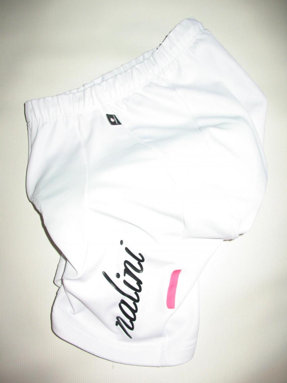 Велошорты NALINI white cycling shorts lady (размер S) - 1