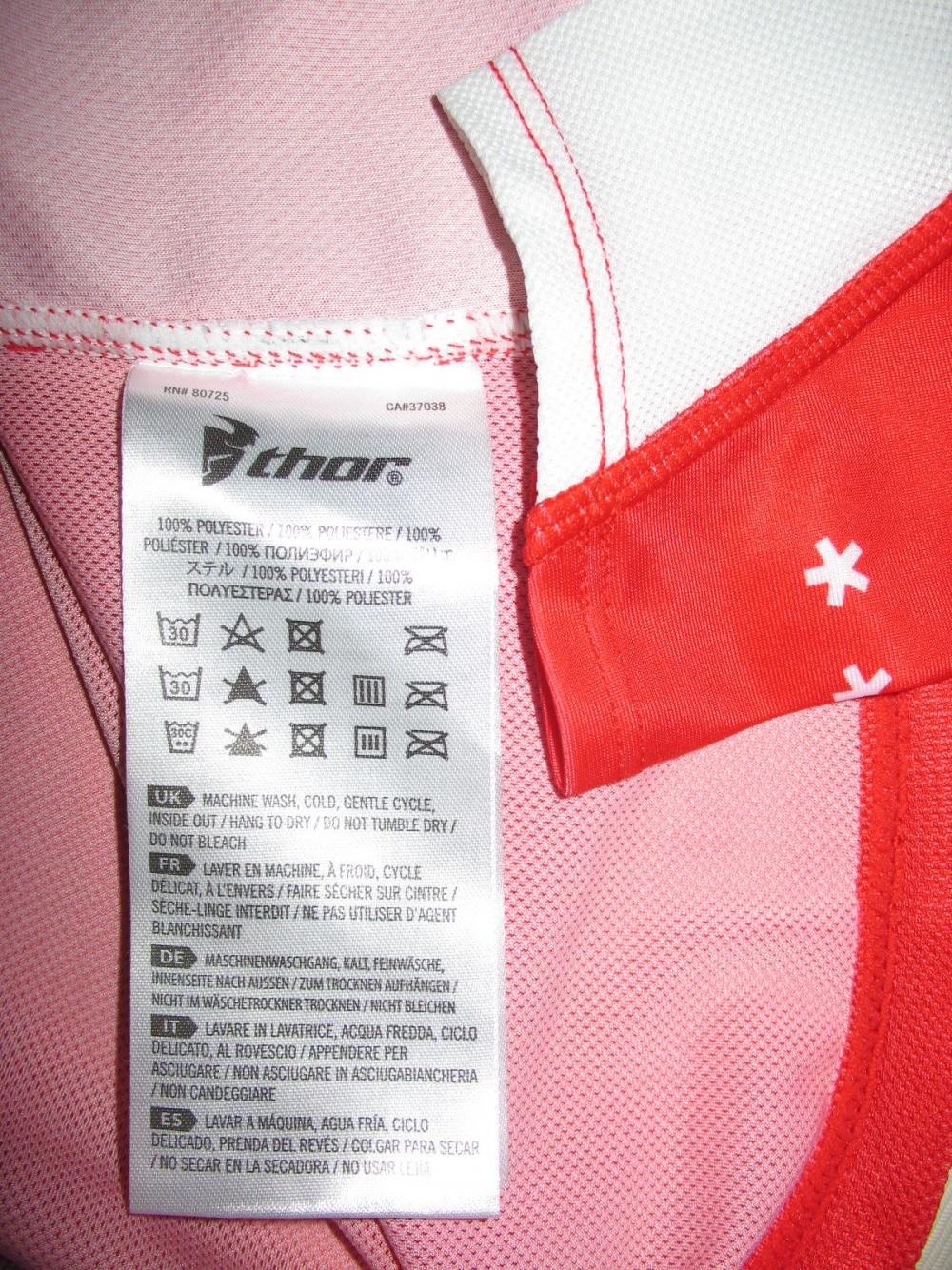 Продам джерси Велоджерси THOR prime fit squad moto/DH jersey (размер L) - 5