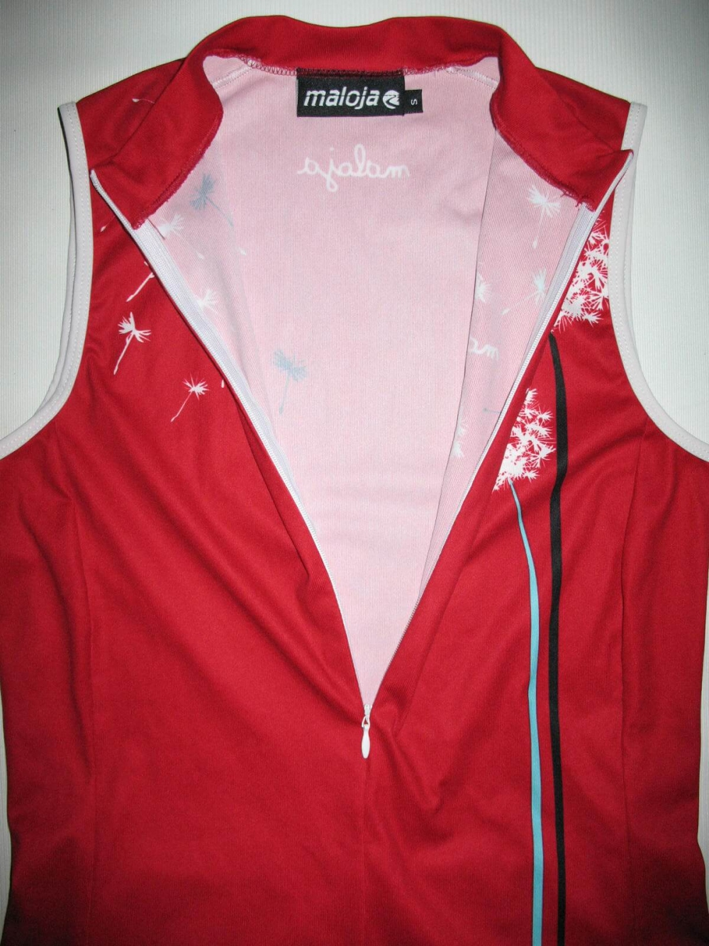 Веломайка MALOJA sleeveless cycling jersey lady (размер S) - 3