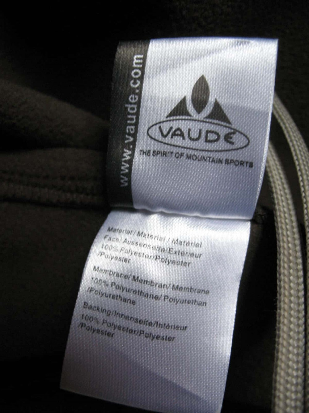 Куртка VAUDE hurricane softshell jacket (размер M/L) - 9