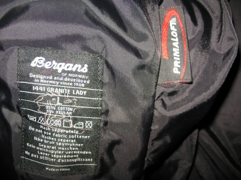 Куртка BERGANS  of norway Granite Insulated Parka lady   (размер L/M) - 9