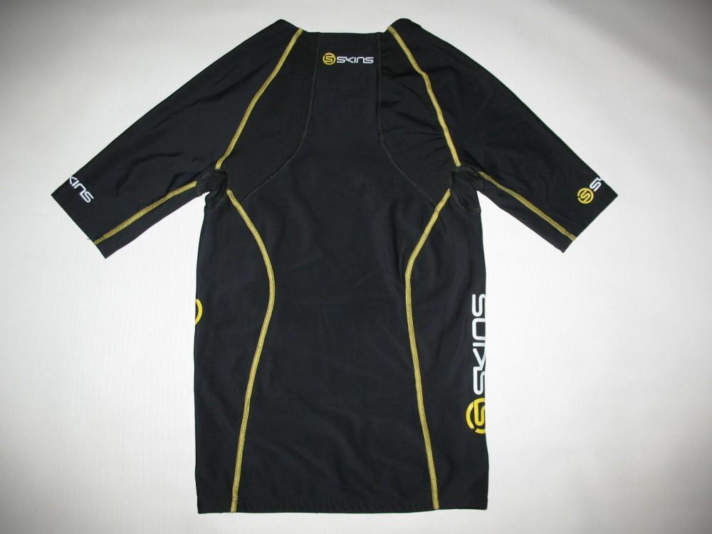 Футболка+брюки SKINS A200  short sleeves jersey+ long tights (размер M) - 2