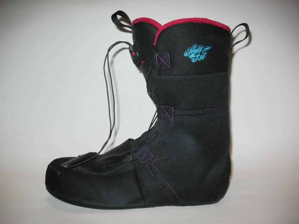 Ботинки SALOMON pearl boa snowboard boots (размер US10/UK8,5/EU42,5(на стопу до 270mm)) - 7