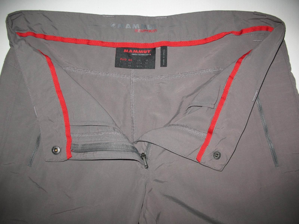 Штаны MAMMUT Zip Off pants lady (размер 40-L/M) - 6
