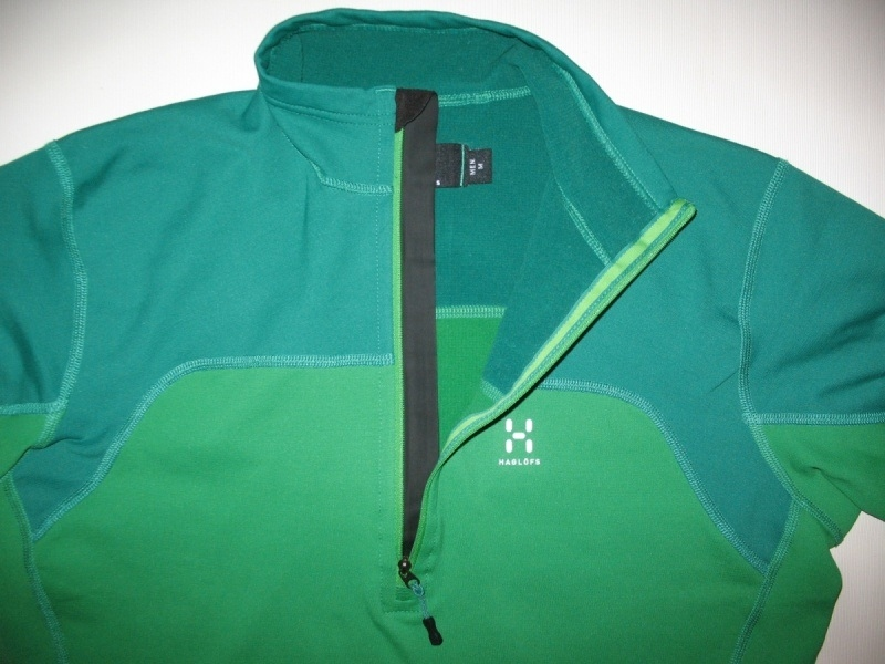 Кофта HAGLÖFS 1/4 zip fleece jacket (размер M) - 2
