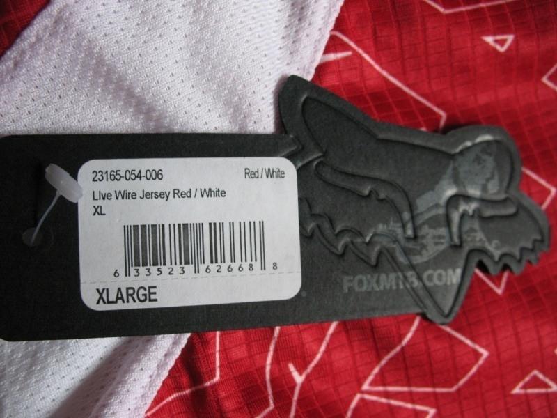 Веломайка  FOX Live Wire jersey  (размер XL) - 7