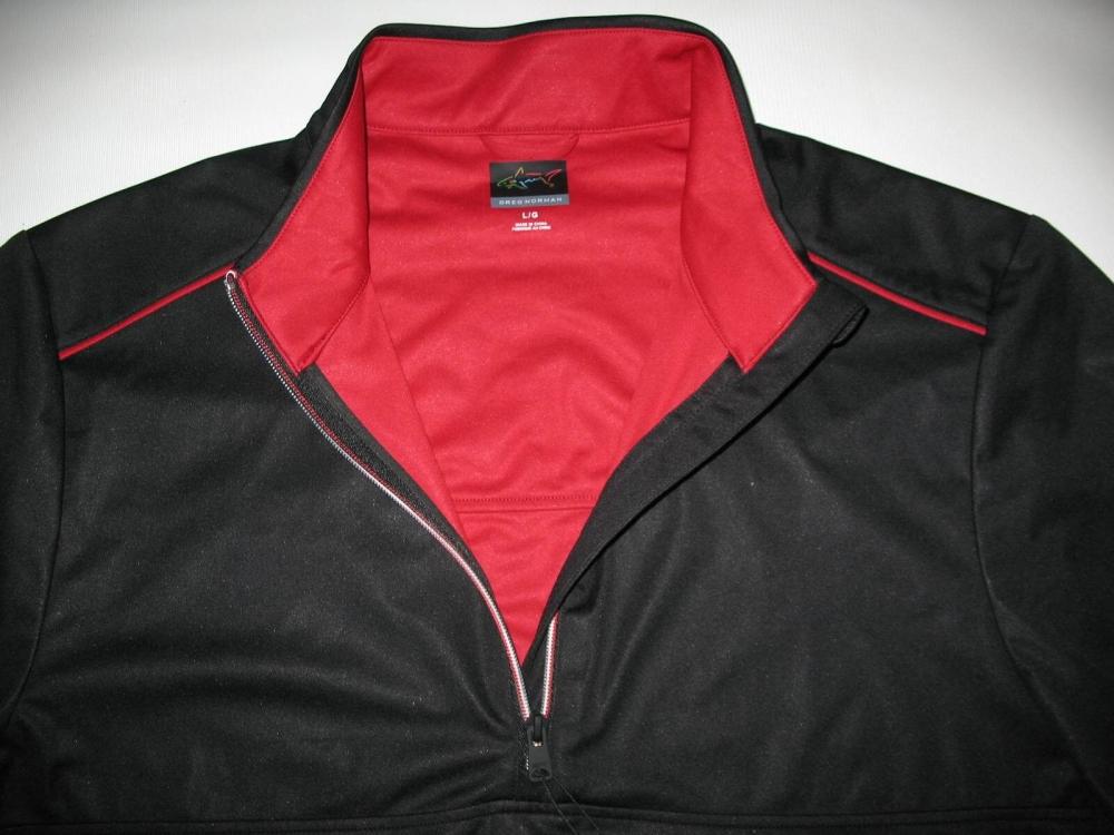 Футболка  GREG NORMAN Weatherknit Rain Protection 1/4-Zip Short Sleeve (размер L(реально XL)) - 5