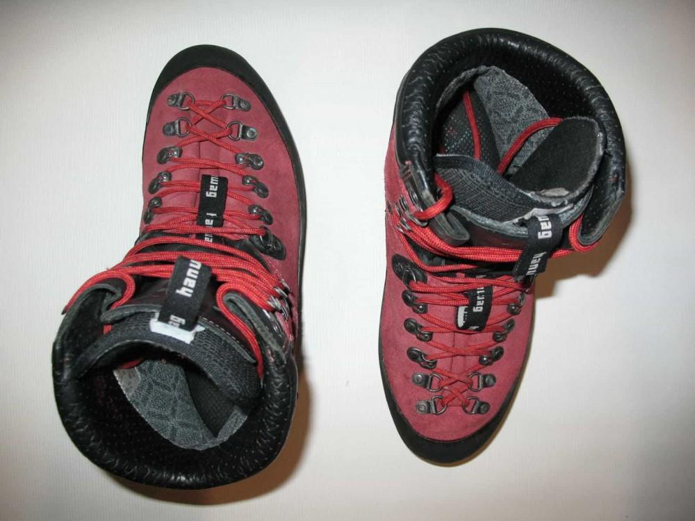 Ботинки HANWAG omega GTX boots (размер UK7,5/EU41,5(на стопу до 265mm)) - 7