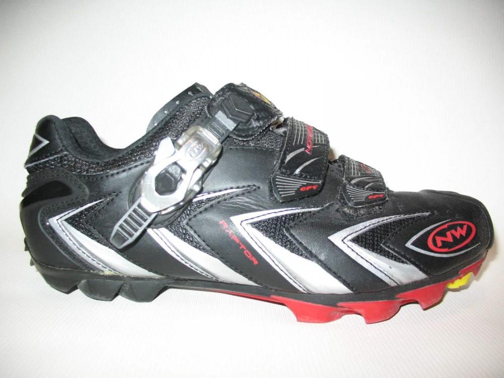 Велотуфли NORTHWAVE raptor cycling shoes (размер US8,5/UK7,5/EU41(на стопу до 265 mm)) - 1