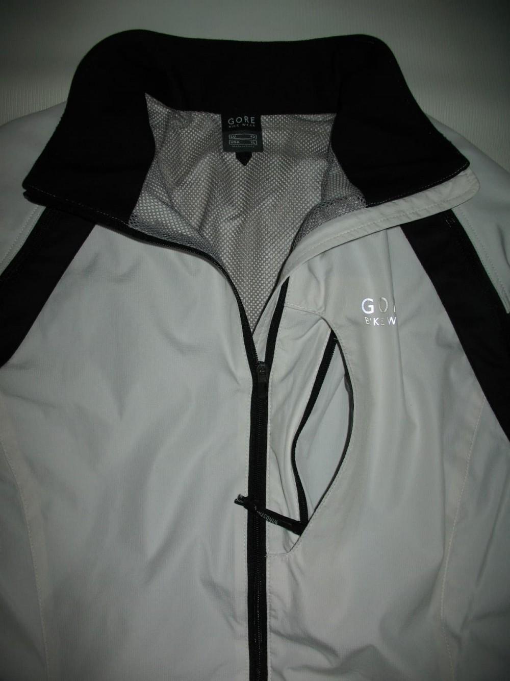 Велокуртка GORE BIKE WEAR 2in1 windstopper jacket lady (размер 40/XL) - 4