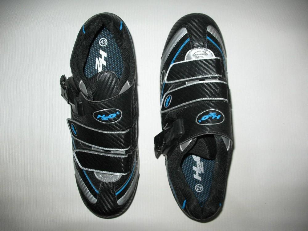 Велотуфли H2O road shoes (размер EU43(на стопу до 280 mm)) - 2