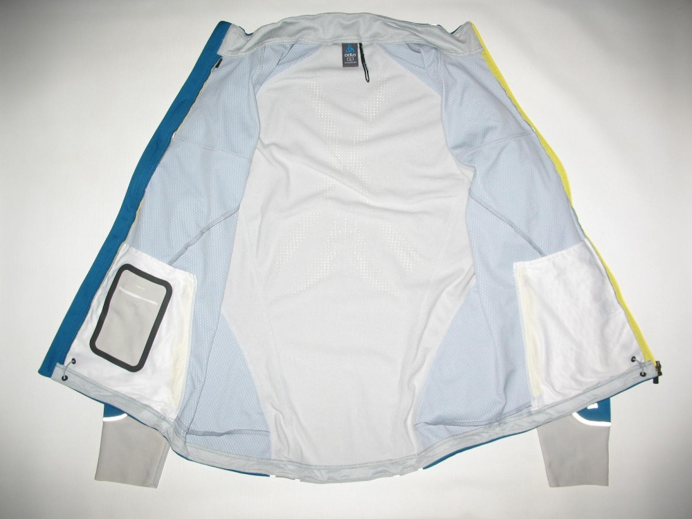 Куртка ODLO nagano windstopper jacket (размер L) - 8