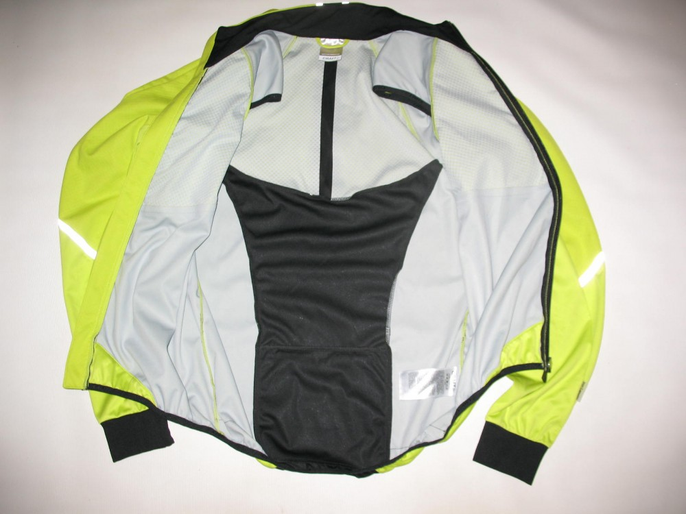 Велокуртка CRAFT adapt storm 2in1 cycling jacket (размер M) - 10