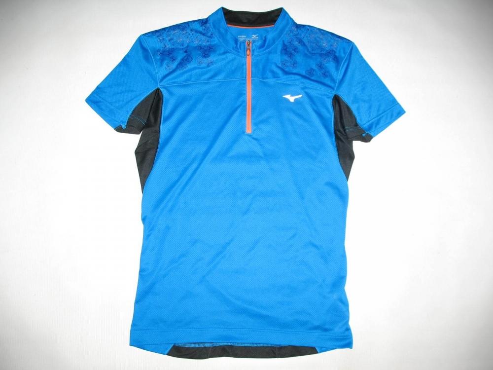 Футболка MIZUNO drylite hex tee jersey (размер M) - 3