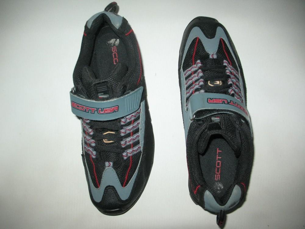 Велотуфли SCOTT vibram mtb bike shoes (размер US9/UK8/EU42(на стопу 265 mm)) - 5