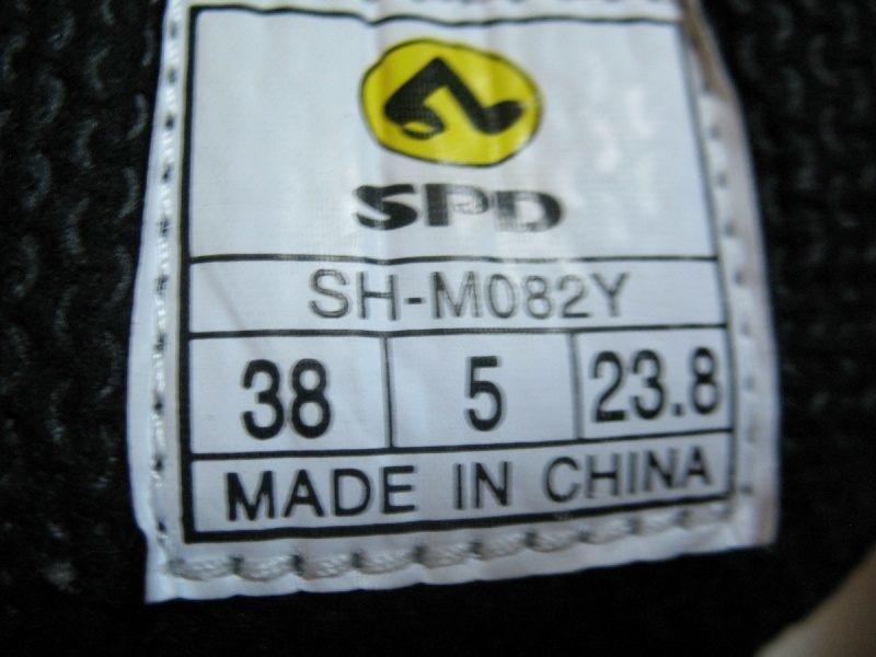 Велотуфли SHIMANO SH-M082  (размер EU38(238mm)) - 9