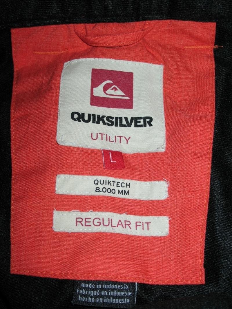 Штаны QUICKSILVER porter pants (размер L) - 15