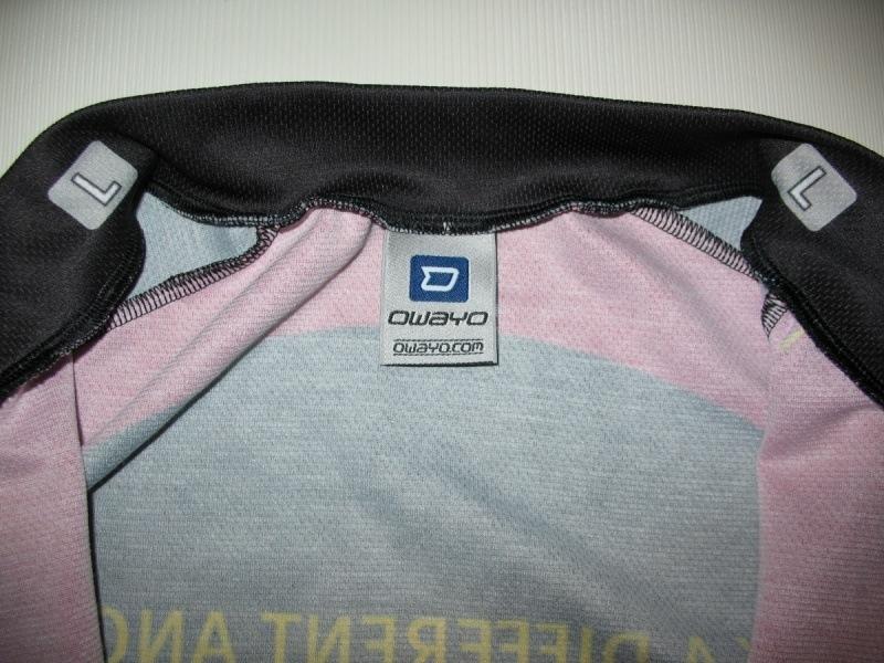 Футболка  OWAYO grant's bike jersey (размер L) - 3
